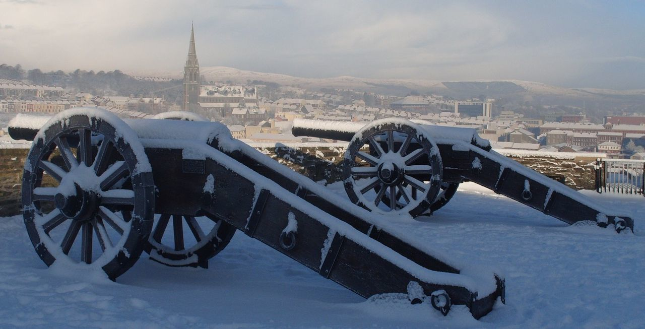 City Derrylondonderry Snow Travel Destinations
