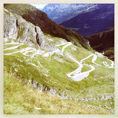 serpent at St. Gotthardpass / Pso del S. Gottardo by Adirak