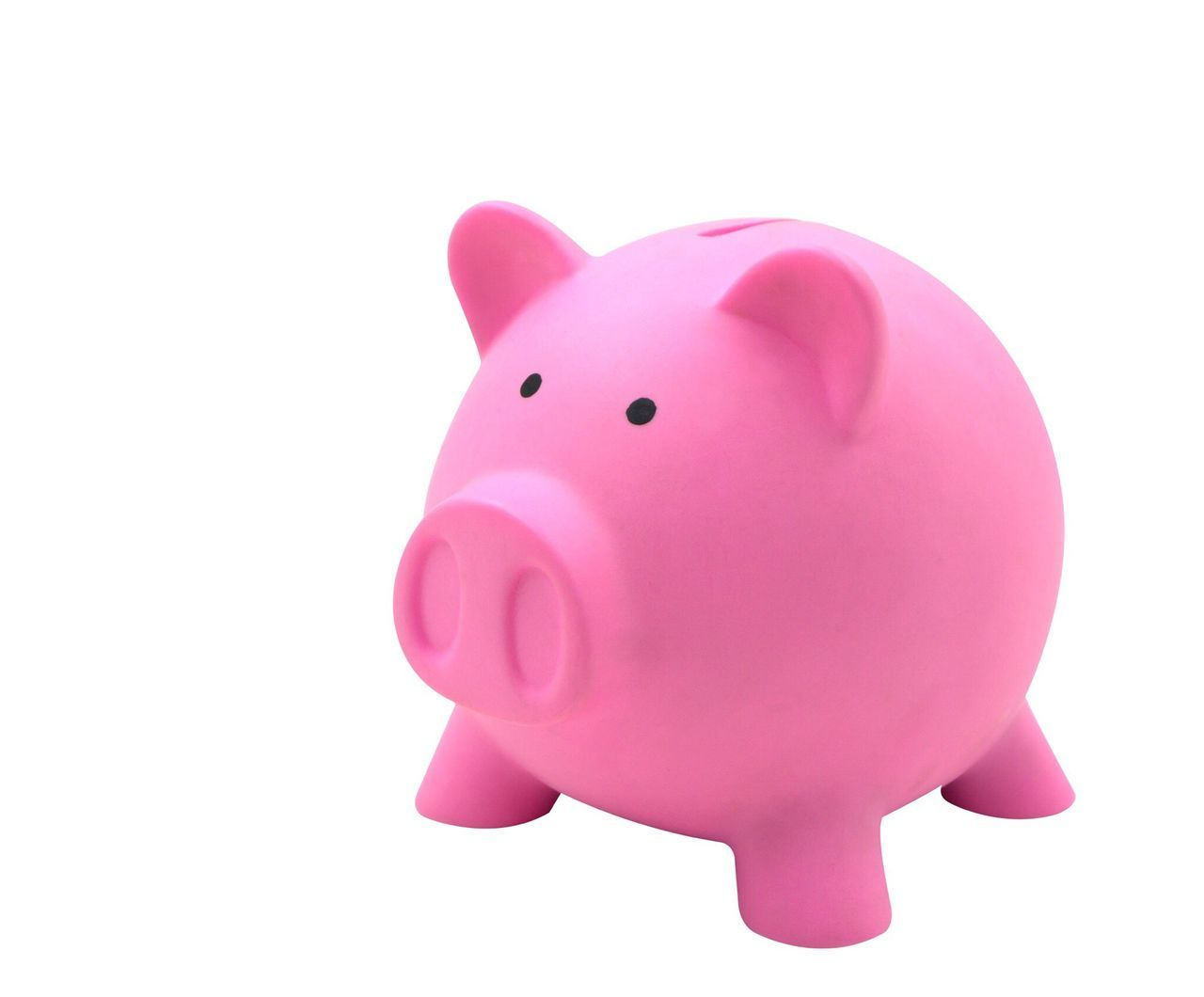 Finance Piggy Bank Savings Studio Shot Pink Color Investment White Background Wealth Rain Responsibility Making Money Consumerism Trust No People Pig Piggy Bank Piggy Piggybank Isolated