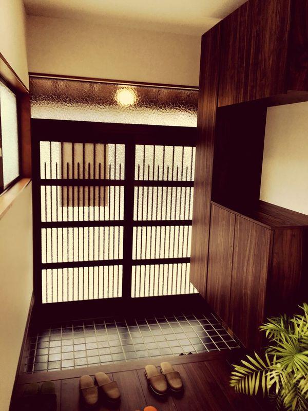 Japan Japanese House Enterance Japanese Enterance Omotenashi