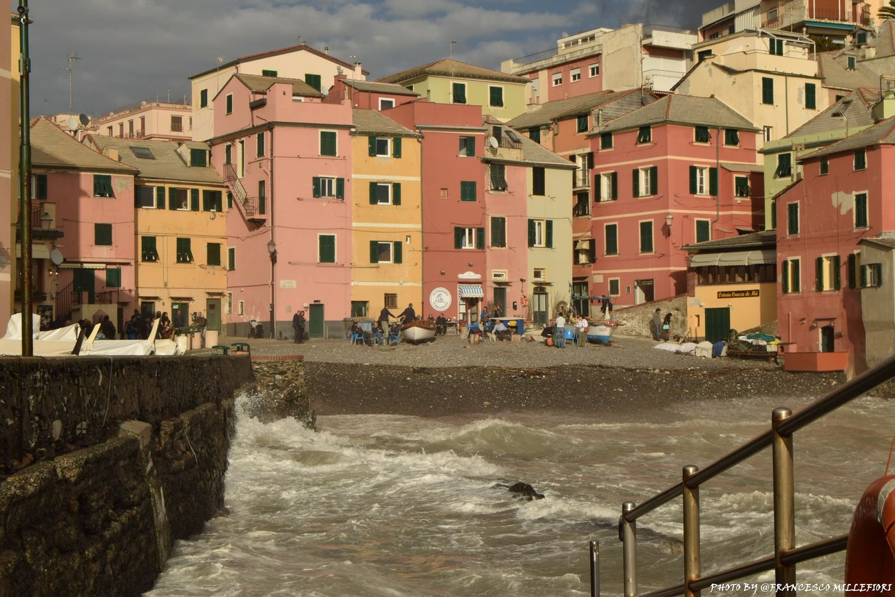 Boccadasse Water City Nature City Life Beauty In Nature