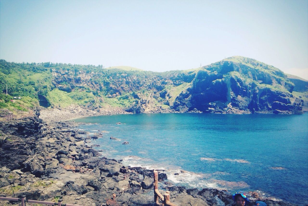 Summer Views JEJU ISLAND  Jeju Udo Beautiful Beautiful Nature Korea Sea Nice Views Traveling