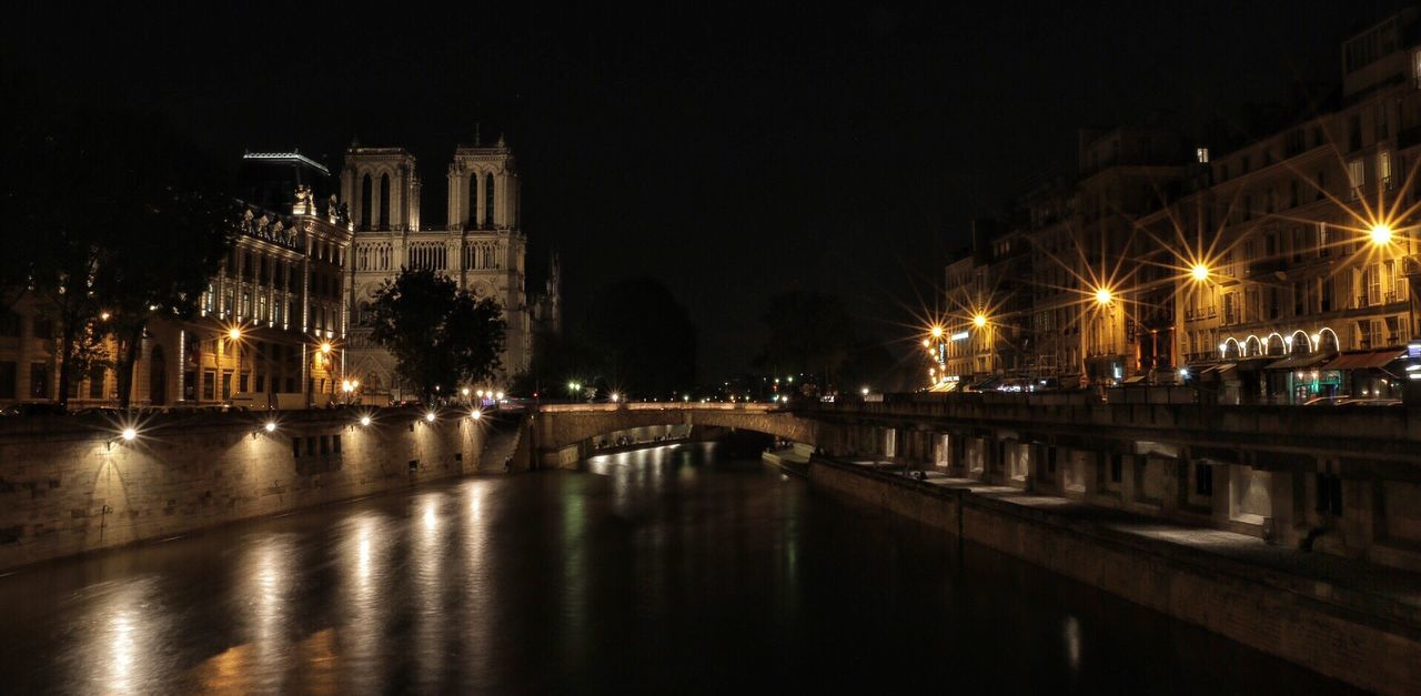 Beautiful stock photos of notre dame, Architecture, Building Exterior, Built Structure, Canal