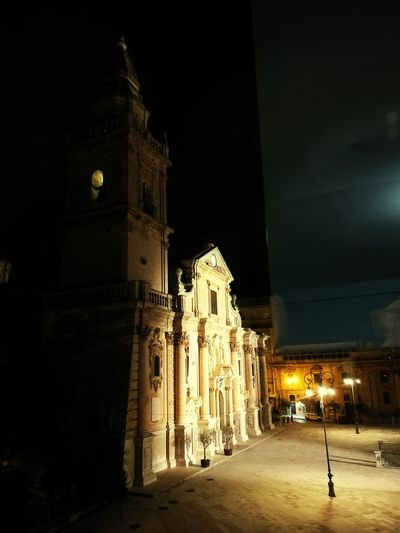 Ragusa Cattedrale Night Illuminated City Travel Destinations Christmas Lights Architecture Christmas Politics And Government Christmas Tree Tourism Built Structure Christmas Decoration Façade History No People Outdoors Clock Tower Tree Sky Clock Face Ragusa - Scorcio Italiano First Eyeem Photo