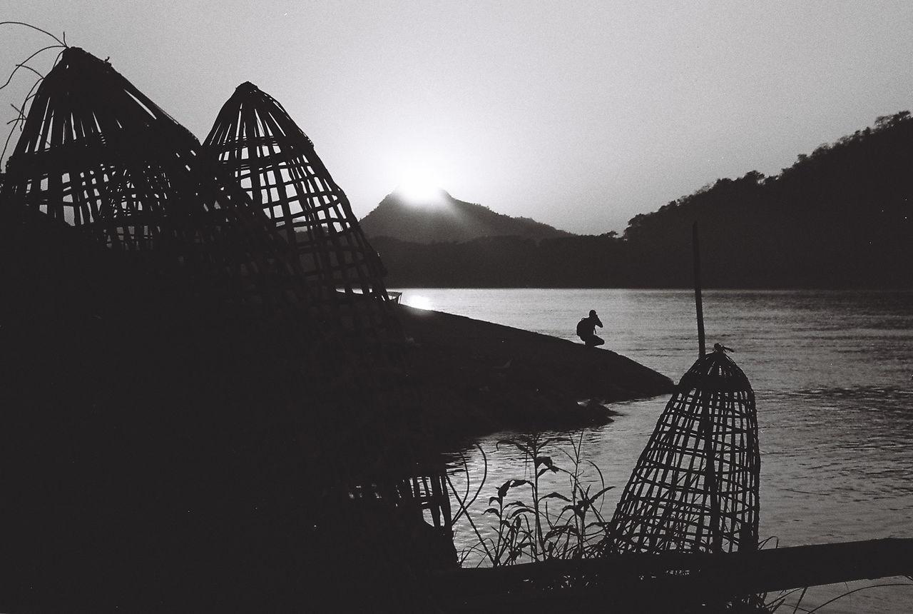 Film Filmcamera LAO Life Lungprabang Outdoors Photography River Sunset Travel Water