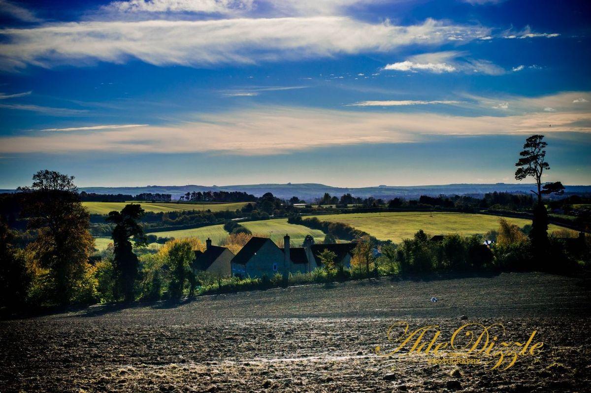 Perfect View Faringdon. Amazing View Landscape Sky World