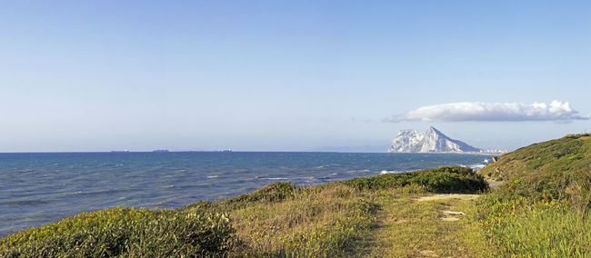 Blue Blue Sky And Clouds Blue Sky And Levanta Coastline Day Gibraltar Gibraltar Panorama Gibraltar Rock Gibraltarview Grass Green Color Horizon Over Water Idyllic Levanta Levanta Over Gibraltar Non-urban Scene Outdoors Pamorama Rock Formation Scenics Sea Sea Views Sky Tranquil Scene Water