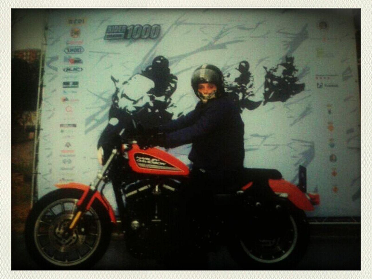 Rider1000 Harley Davidson Motorcycles EyeEm Team Adventure!