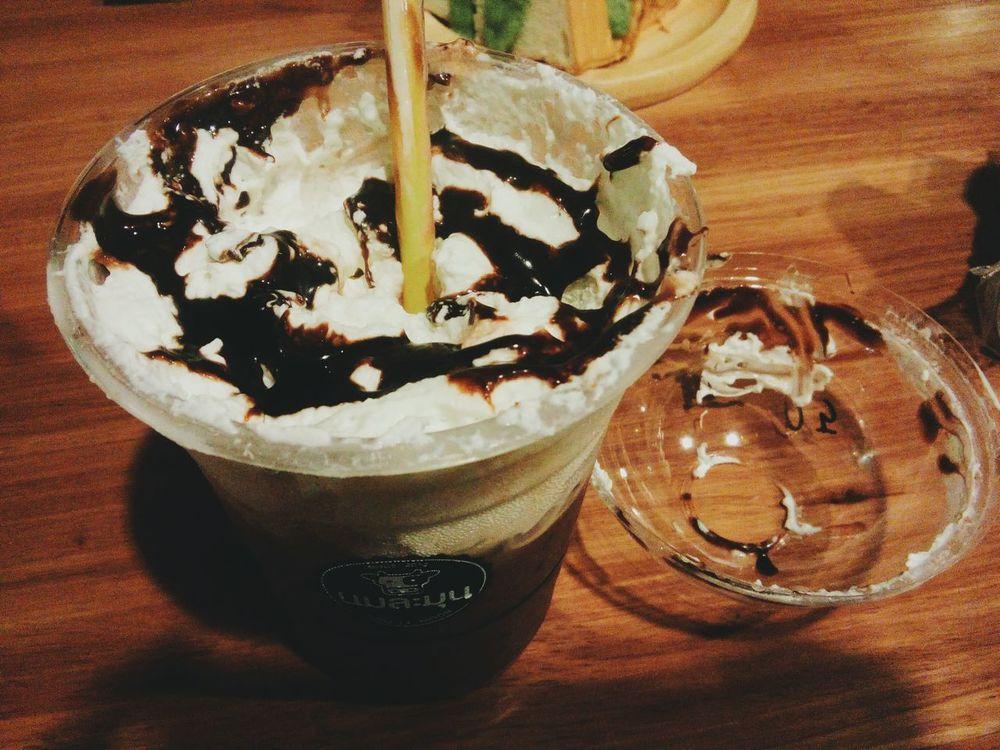 Choco Whippedcream Drinking!