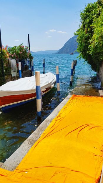 The Floating Piers The Floating Piers By Christo Artinstallation Picture Perfect Picturesque TakeoverContrast