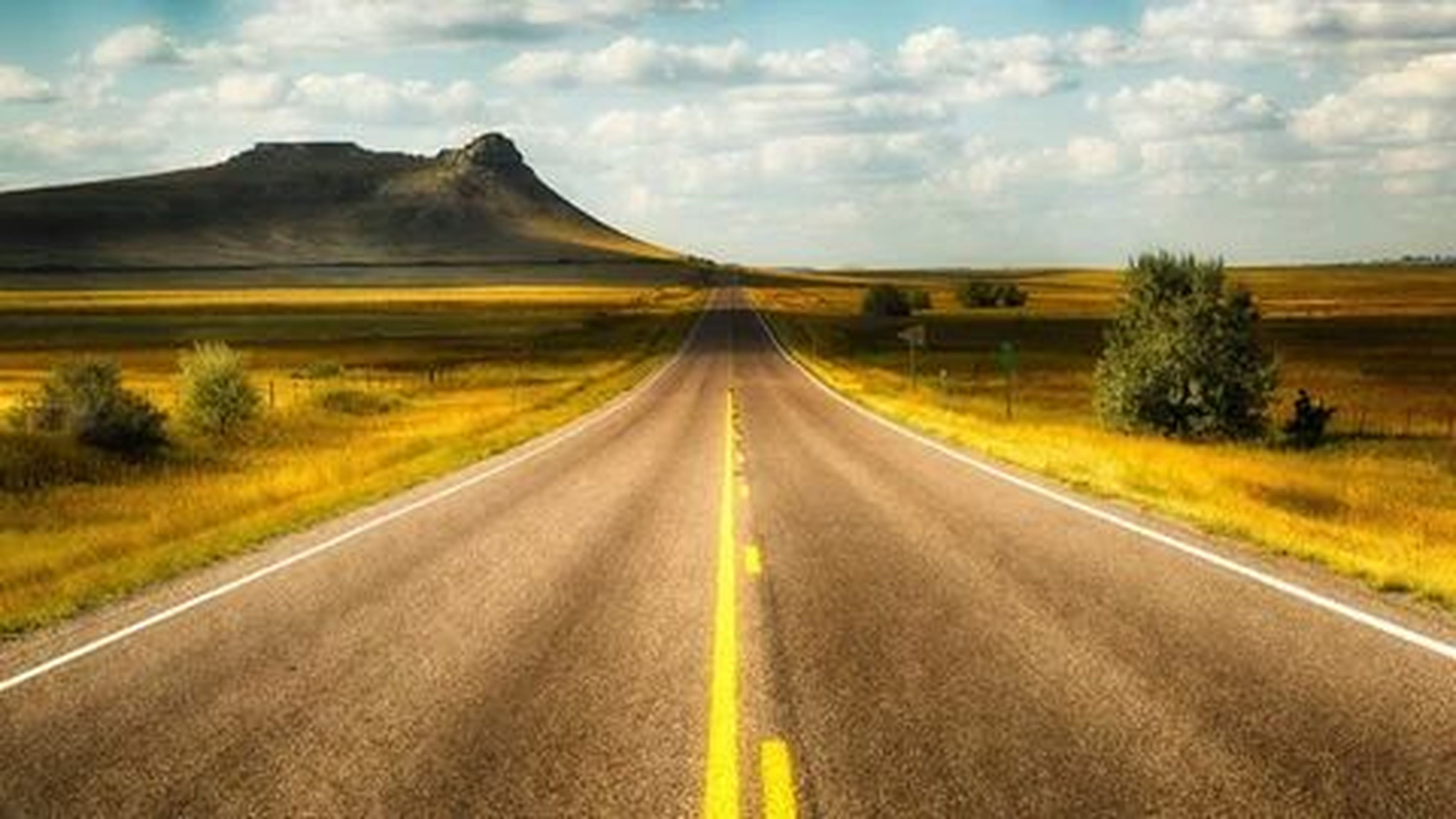 the way forward, road, transportation, diminishing perspective, vanishing point, country road, sky, landscape, road marking, tranquil scene, cloud - sky, tranquility, mountain, empty road, cloud, field, nature, asphalt, scenics, beauty in nature
