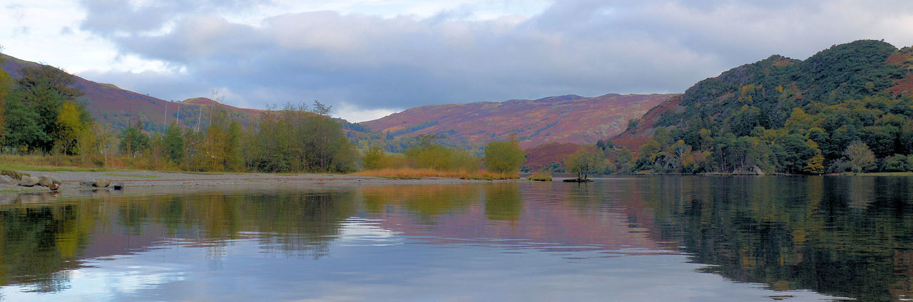 Beauty In Nature Day Idyllic Lake Nature Outdoors Scenics Sky Tranquil Scene Tranquility Water Lake District Ullswater Natural Beauty Mountain Range Lakeshore Cumbria English Countryside Autumn Colors Lake View Natural Beauty! Mountain Cloud - Sky Landscape
