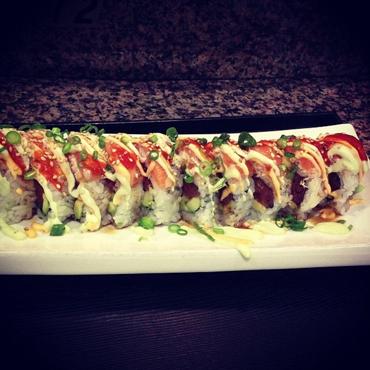 Sushi with the girls. Instayum Thisiswhyimbroke Worthit