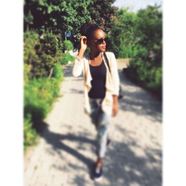 Hi! About A Week Ago Sun Sunglasses Darkskin Darkskin & Lovely Love Lluvueto Instagram Enjoying Life