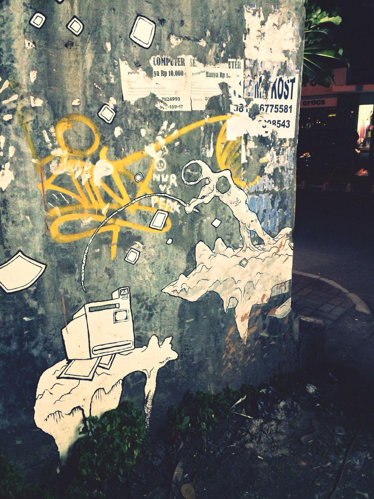 Street art @ Sanur, Bali