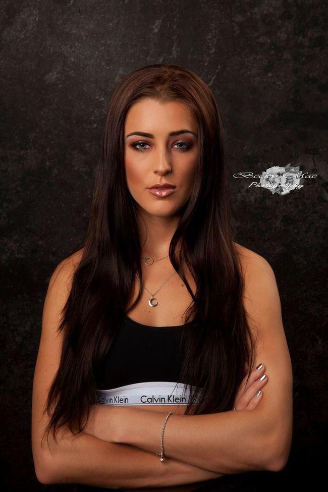 Model Sporty Studio Photography Lighting FaceShot