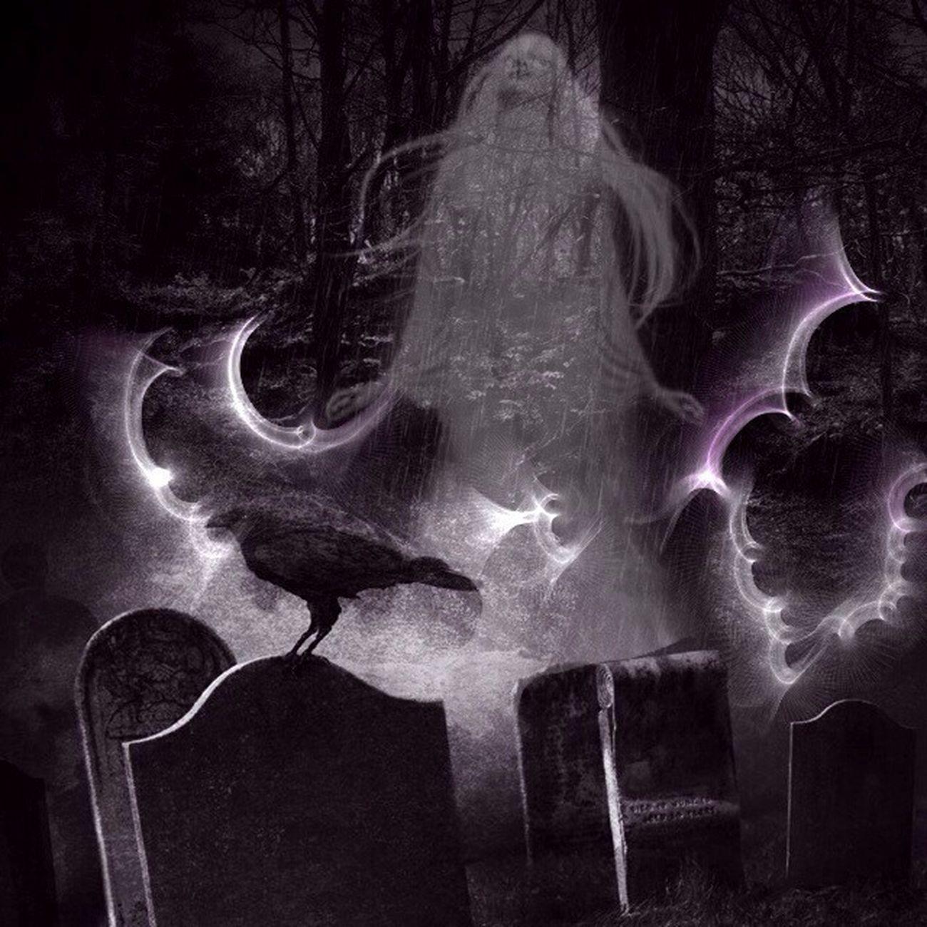 Otherworld ecstasy!!! Spirit Of Ecstasy Women Spooky Atmosphere