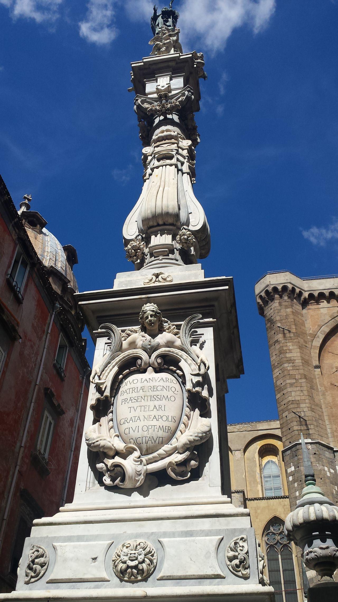 Via Duomo Architecture Napoli ❤ San Gennaro Napoli Naples, Italy