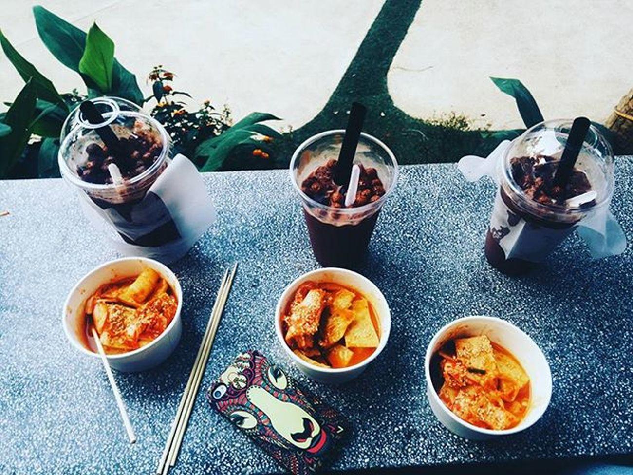 Còn cả 1kg ảnh chưa post í. 😋 Danang Food Tokbuki Teamilksocola Bamboo Asiapark