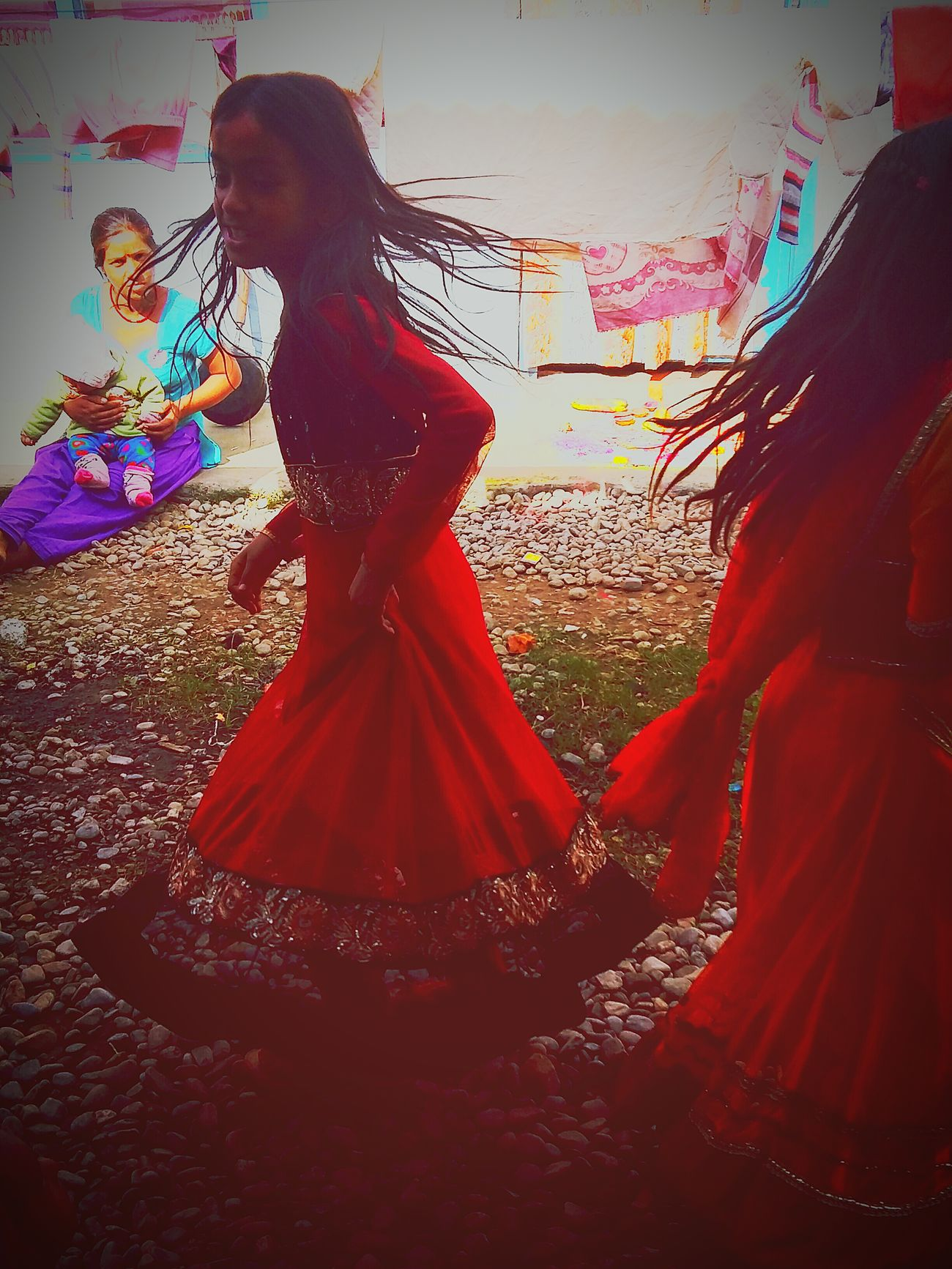 Pokhara, Nepal Life In Nepal Nepal Travel Nepaliculture Nepaligirls Lovely Pokhara Festivals Tihar Dancemusic Danceparty Dancers Colored Life In Colors Live Music Music Festival Music Time