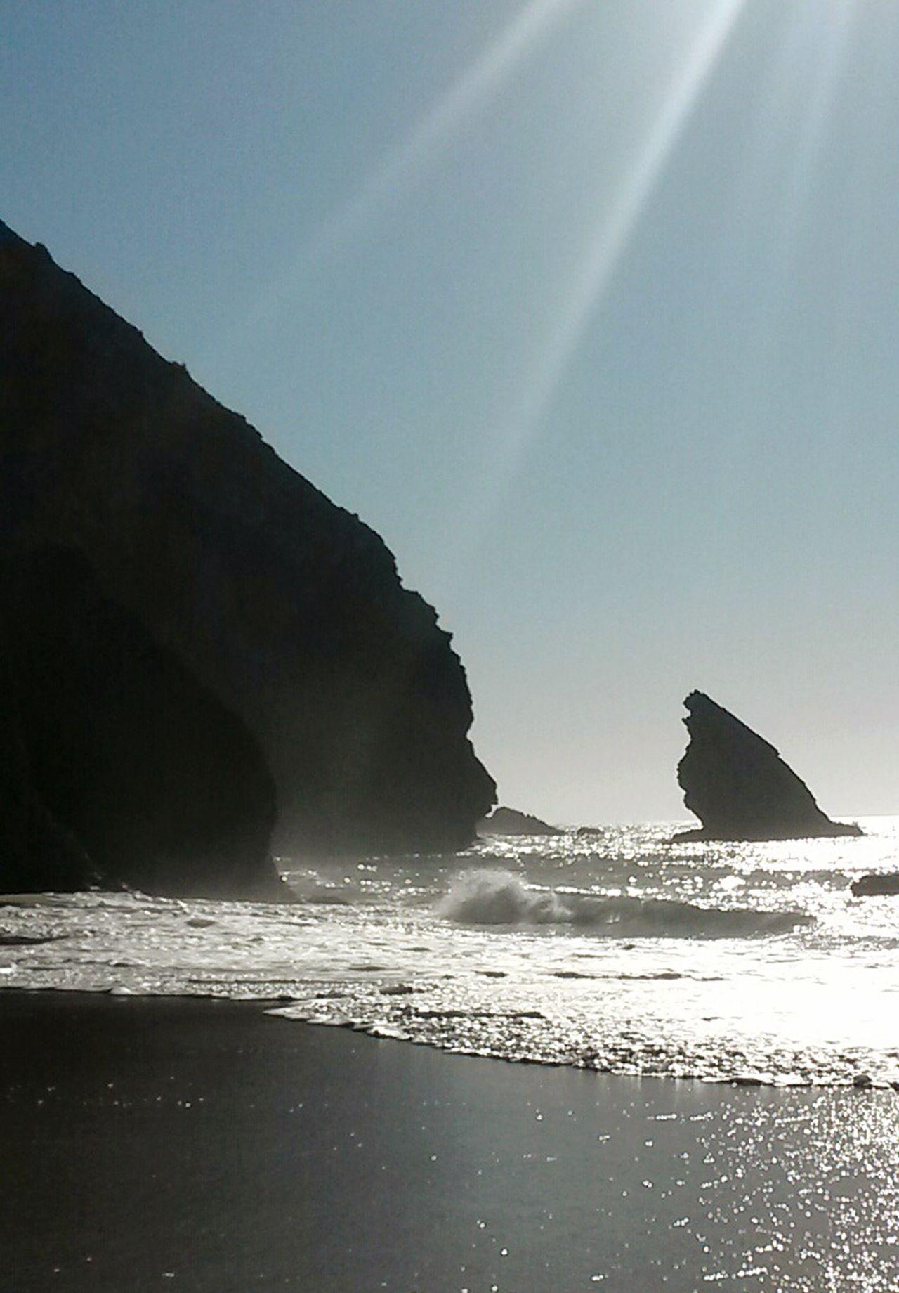 Adraga Beach Adraga Praia Praia Da Adraga Praiadaadraga Beach Coastline Coastlandscape Fog Foggy Day