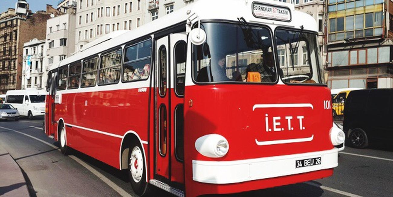 Bus Iett Old Oldbus