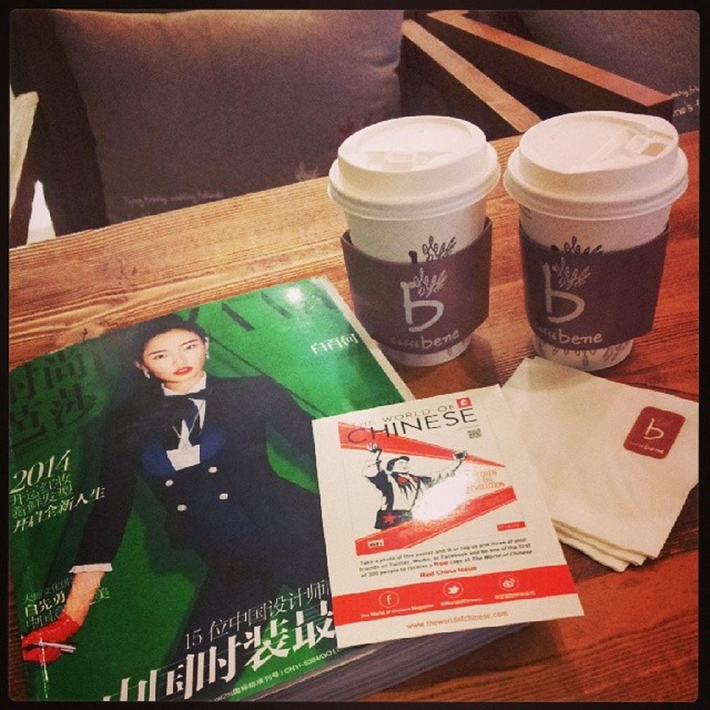 Caffebene Sweetpotatolatte Cafe Coffee beijing instamood instacoffee
