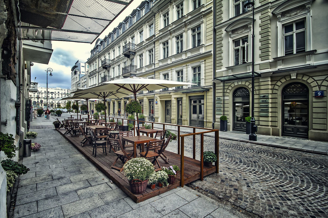 Architecture Building Exterior City Cobblestone Day No People Outdoors Sidewalk Cafe Travel Destinations
