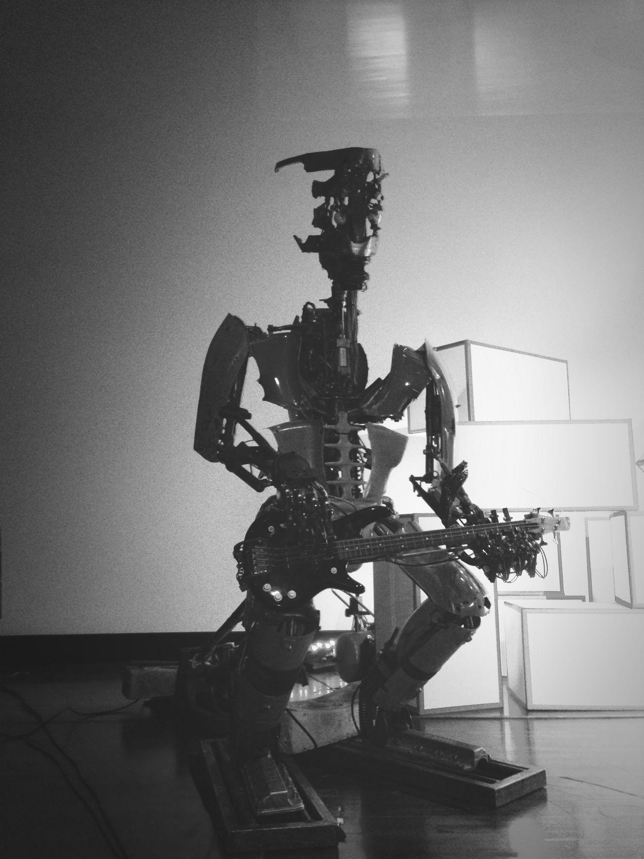 Robot Bass TEDx Berlin