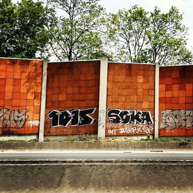 1dis Soka Streetart A6 Tag Graf