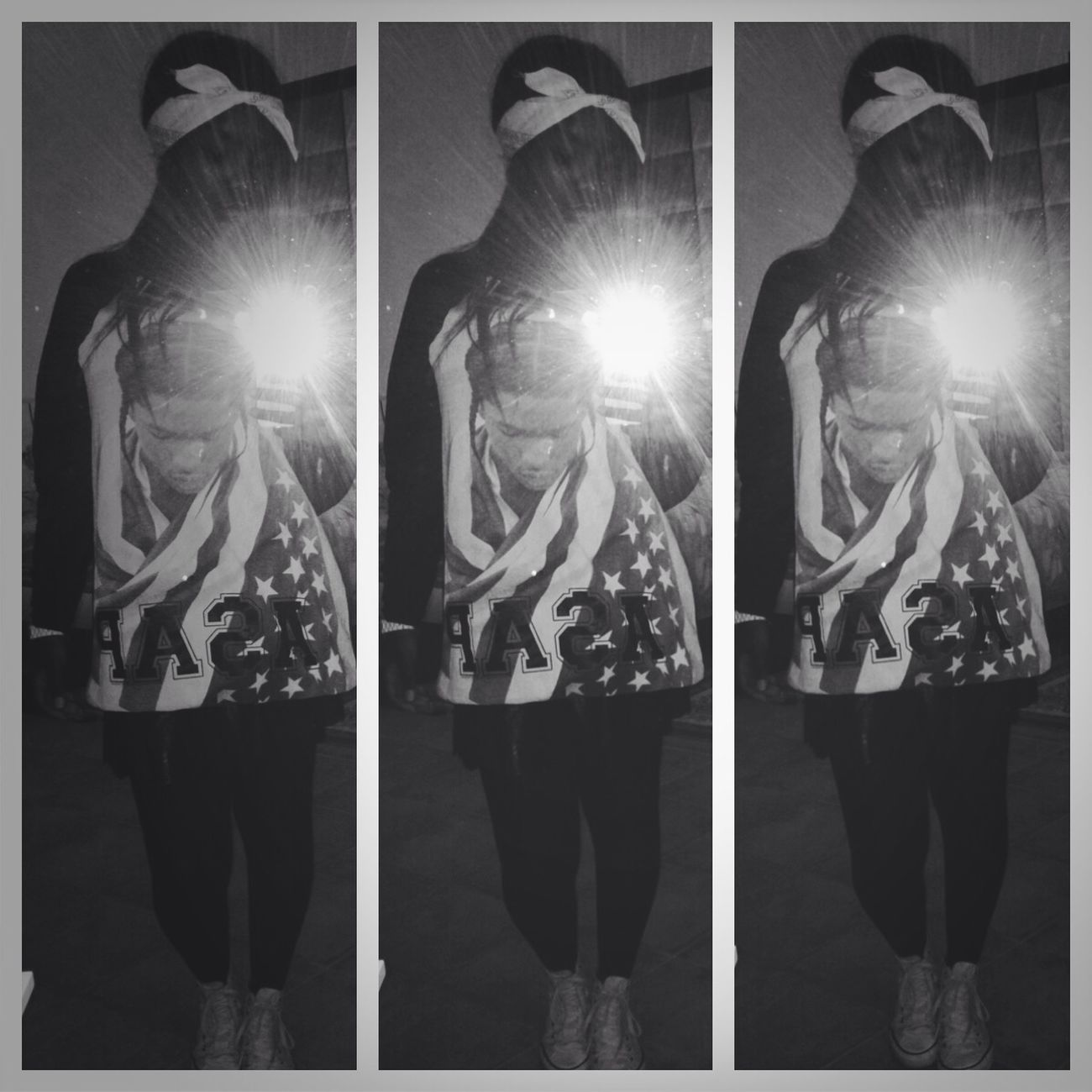 Ootd A$apRocky Fan Black & White :) Fashionkilla