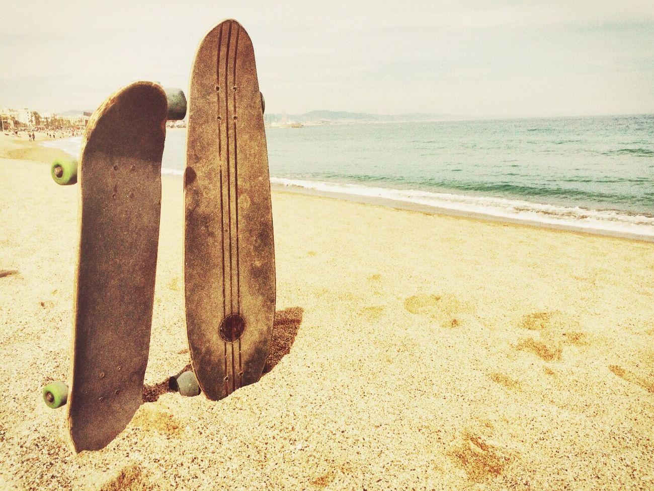 Compartir la vida y momentos inolvidables con seres queridos la hace mucho más especial Beach Barcelona Longboard Skate