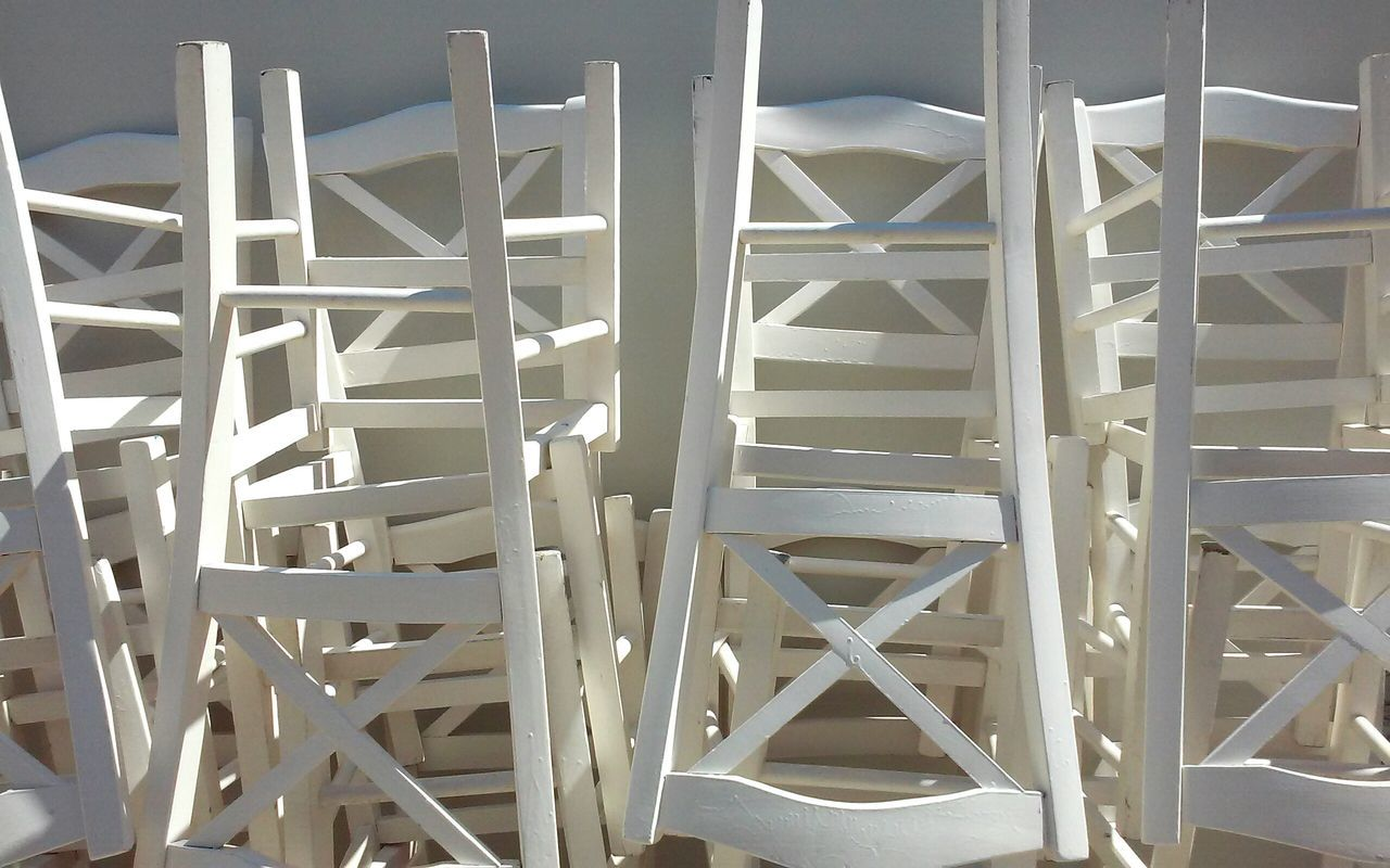 Chairs Colour Palette White Chairs Composition Of Chairs Abstract Photography Eye4photography  Abstract Minimal White Color White
