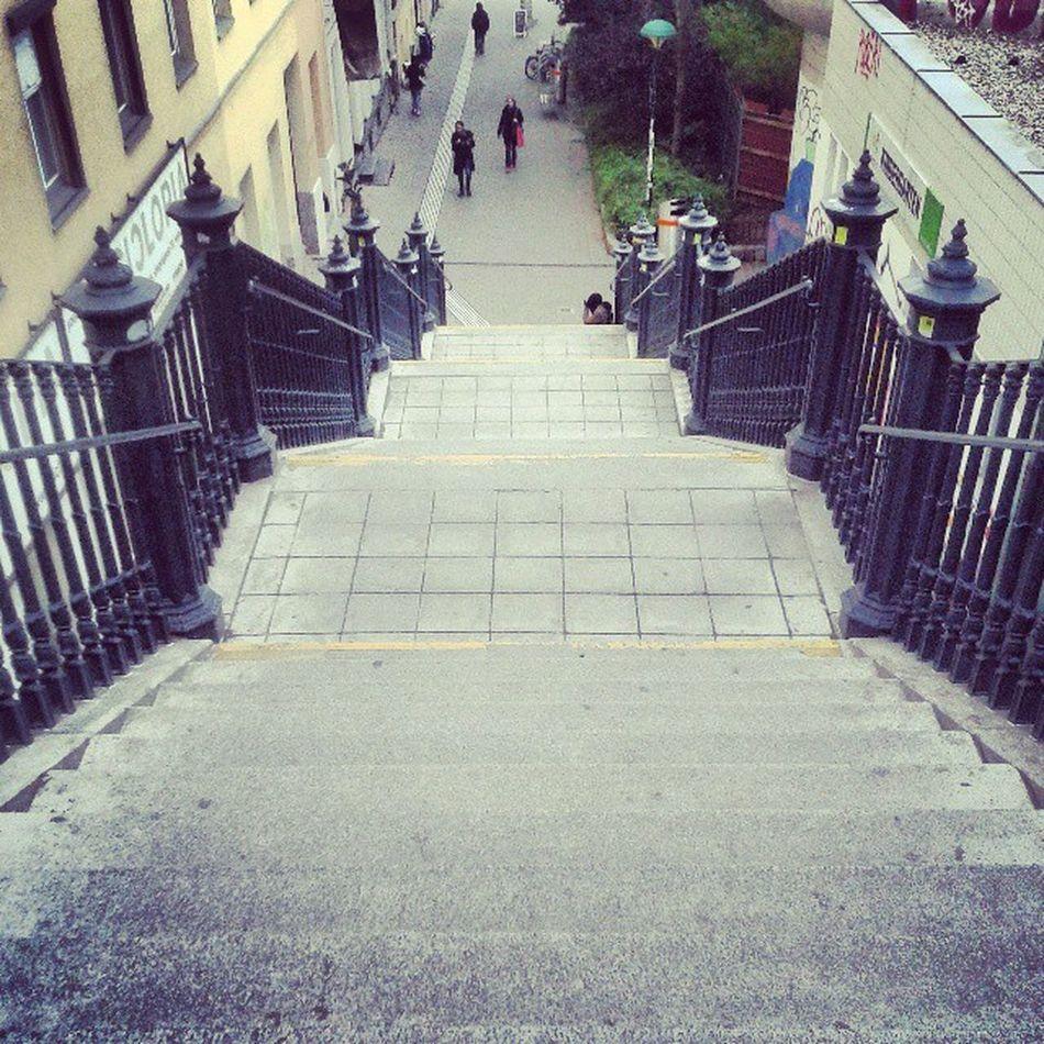 Vienna Stairs Up Vienna Wien Architecture