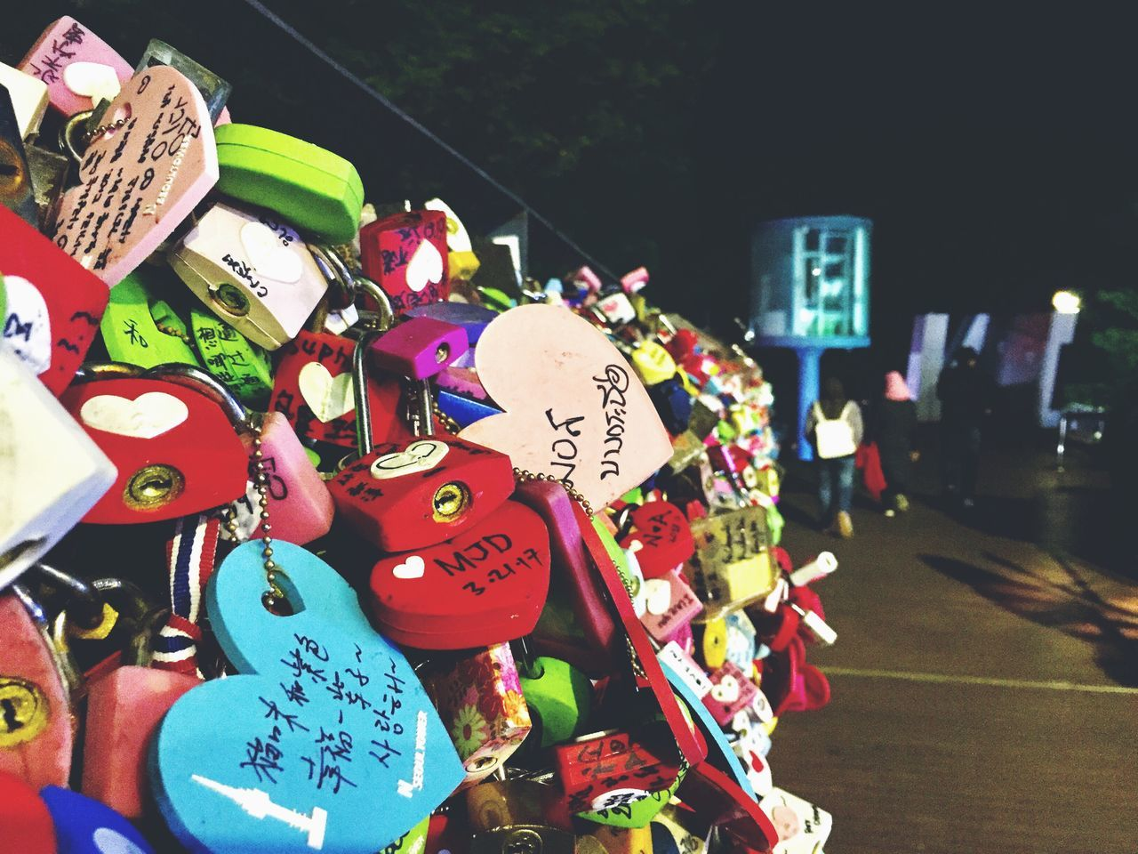 We are all made of love Love Hope Love Lock Lock Multi Colored