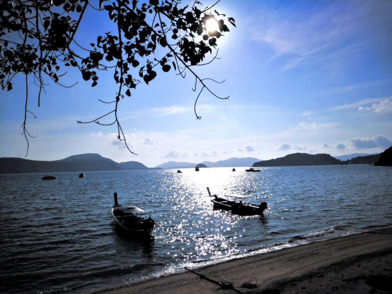 Crap Panwa Phuket Nautical Vessel Sea Water Scenics Transportation Mountain Outdoors Nature Beauty In Nature Landscape Sky Pedal Boat Sailboat No People Astrology Sign Day Yachting