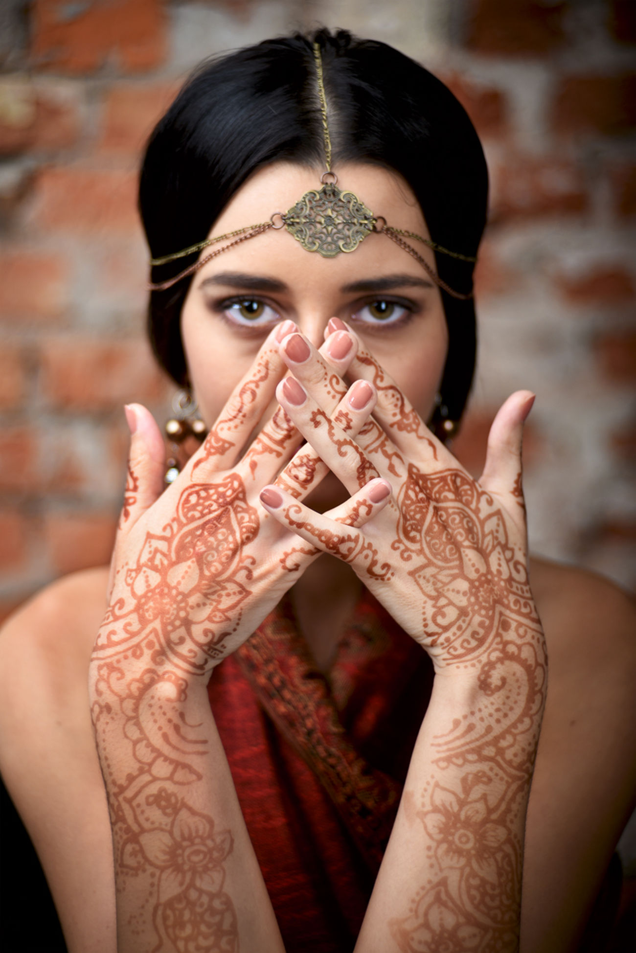 Indian, One Woman Only Human Body Part Portrait Human Hand Looking At Camera Young Adult Adult Ring Adults Only Only Women Arts Culture And Entertainment Human Finger One Person One Young Woman Only People Beautiful People Beautiful Woman Women Beauty Young Women