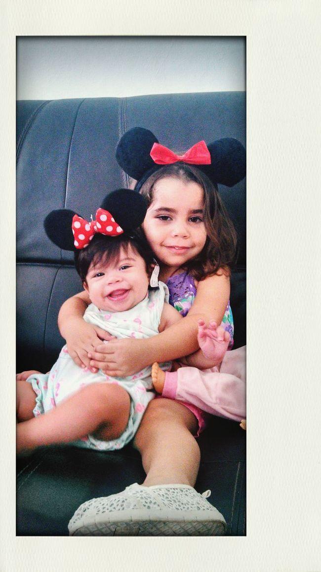 My minnie mouse Sobrinas Nieces Happy Girls Beatiful Girls