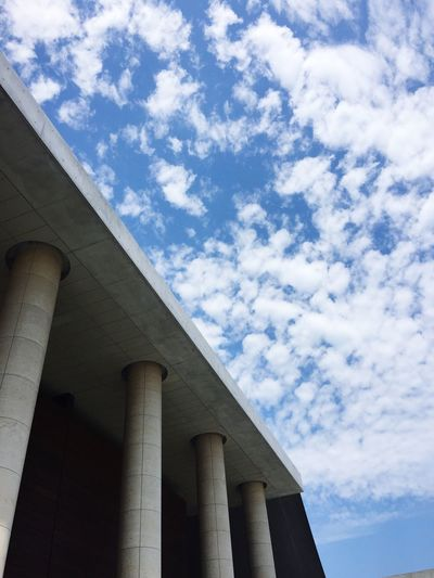Architecture Low Angle View Built Structure Sky Architectural Column Day No People Building Exterior Outdoors City