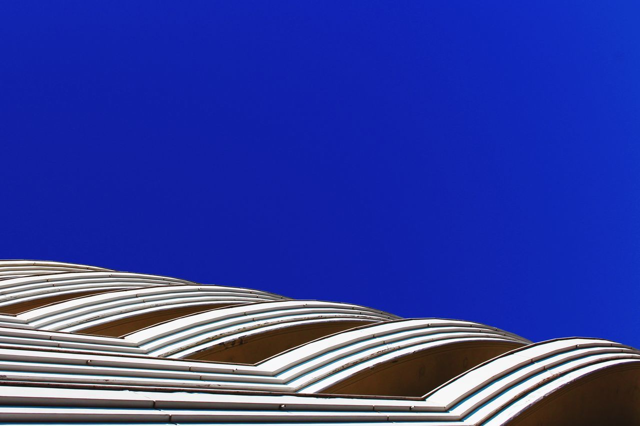 Beautiful stock photos of roof, Architecture, Blue, Built Structure, Clear Sky