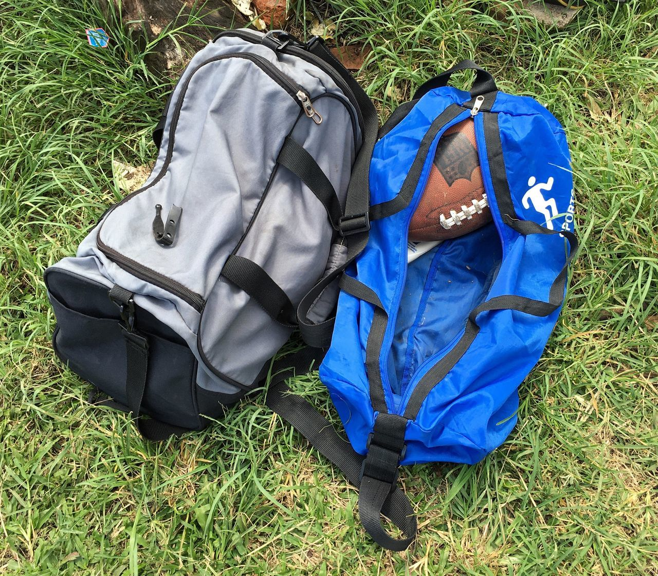 Two Is Better Than One Sports What's In My Bag  Waiting Football In The Bag Outdoors Leisure Activity TakeoverContrast