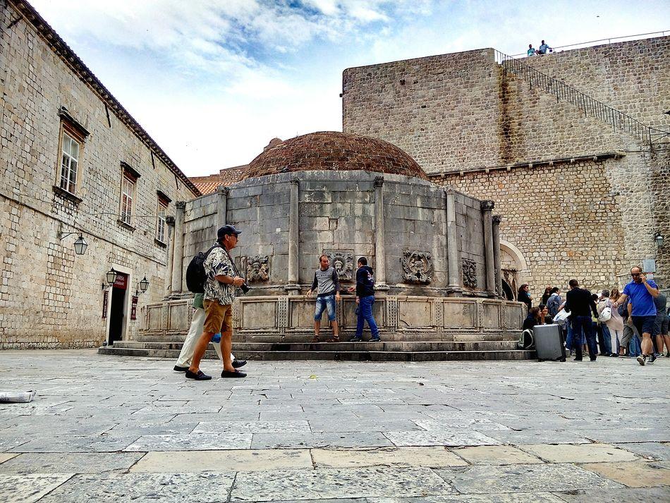 BIG Onofrio Fountain Dubrovnik History