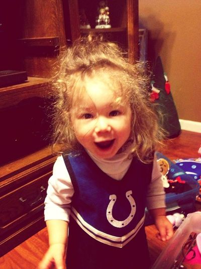 The cutest little girl ever:)!