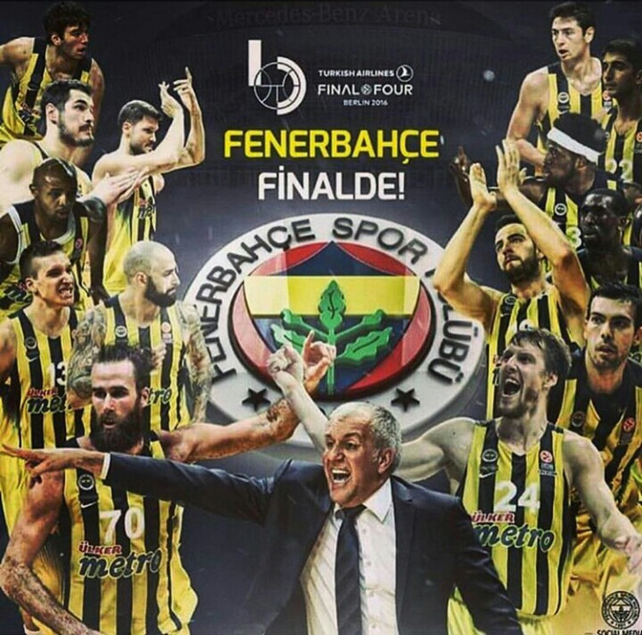 F4glory Finalfour Euroleague Fenerbahce  Fbbasketbol Fenerbahçe SK Fenerbahcem Basketball