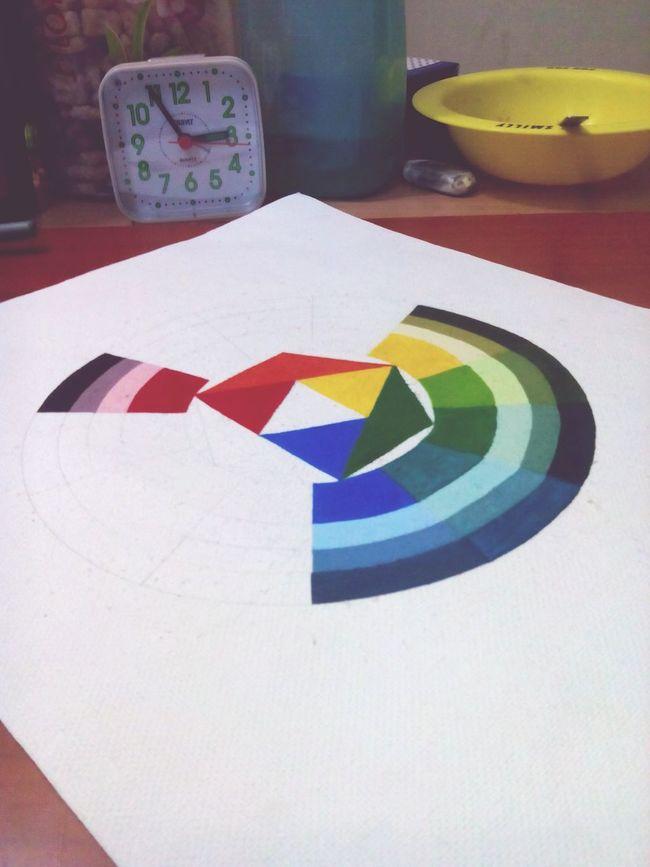 Colorwheel Initial Art Creative EyeEm Gallery Smile Live