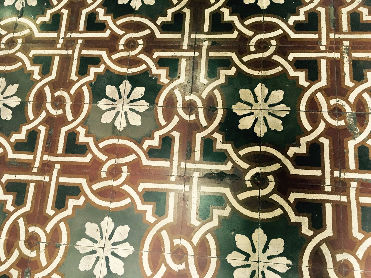 Spanish floor tiles Architectural Detail Floor Flooring Flooringpattern Architecture_collection Architectural Feature Tradition Old Buildings Old Fashion Style