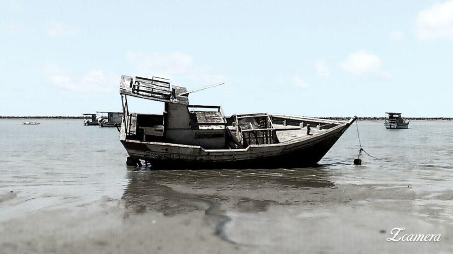 Sea Beach Water Sky Longtail Boat