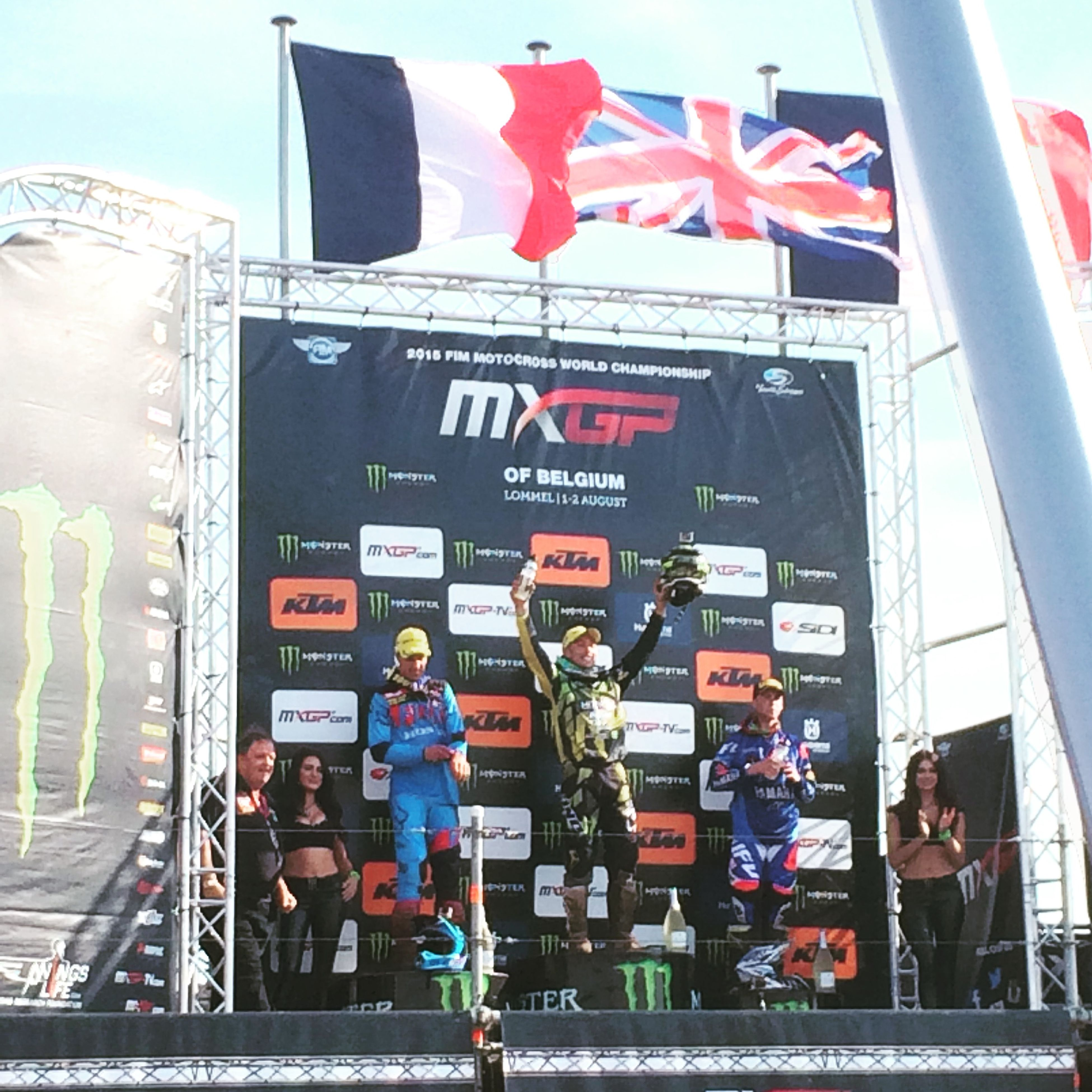 Motocross Race Mxgp Belgium