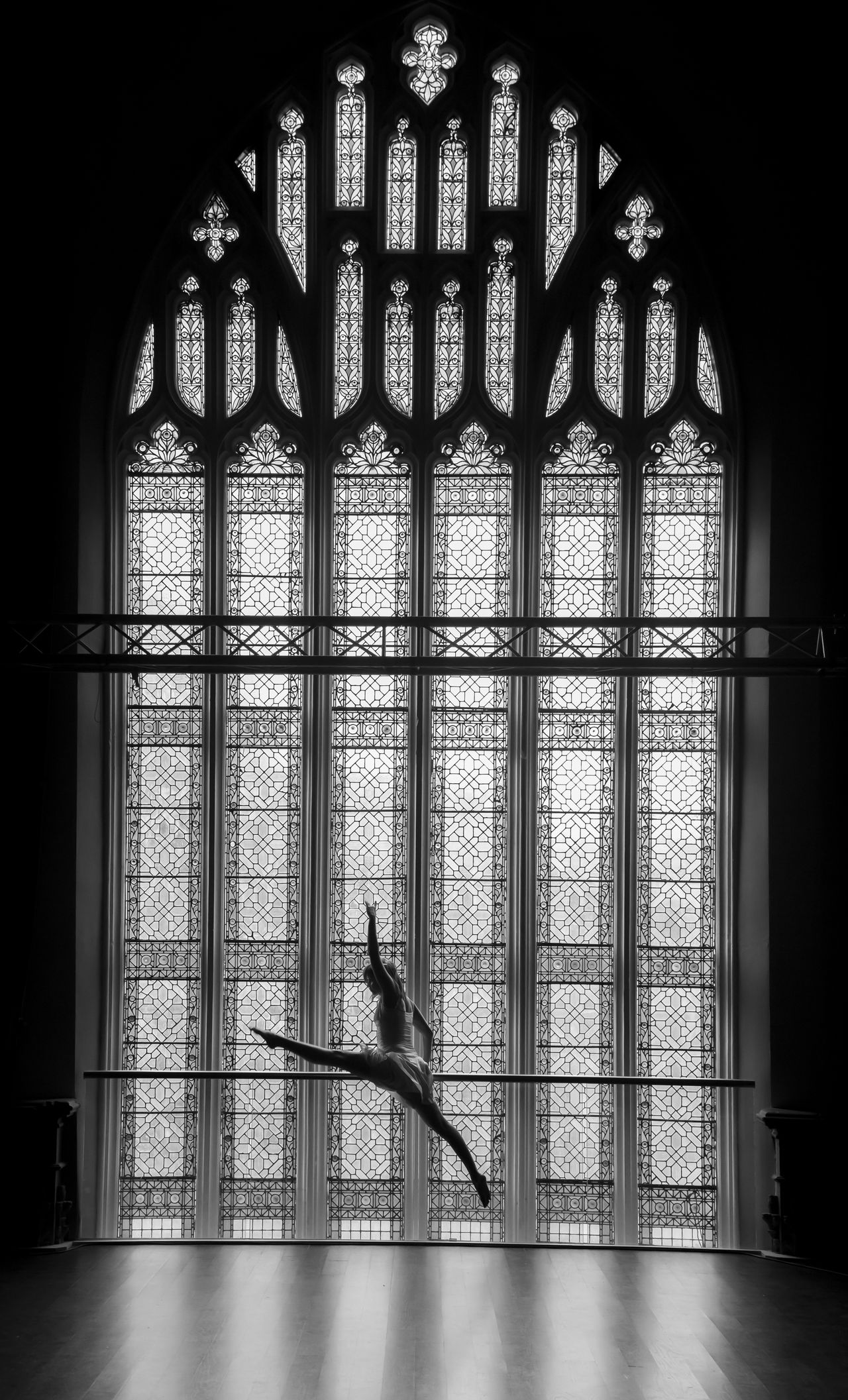 Ballerina Ballet Ballet Dancer Church Architecture Dance Dance Photography DANCE ♥ Dancer Dancers Energy Jump Jumping Movement Stained Glass Stained Glass Window Window EyeEmNewHere BYOPaper! BYOPaper! BYOPaper!