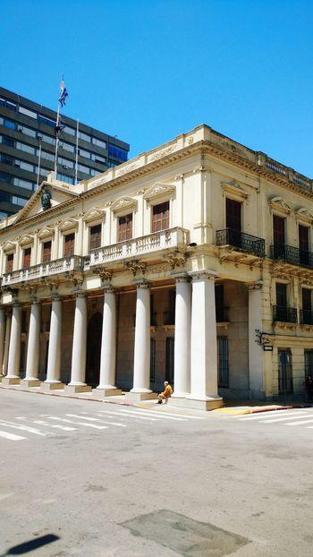 Montevideo,Uruguay Government Architectural Column